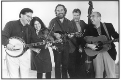 Bluegrass Intentions, Bill Evans, Suzy Thompson, Eric Thompson, photo by Irene Young