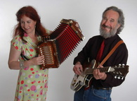 Aux Cajunals, Suzy Thompson, Eric Thompson, Cajun accordion by Irene Young
